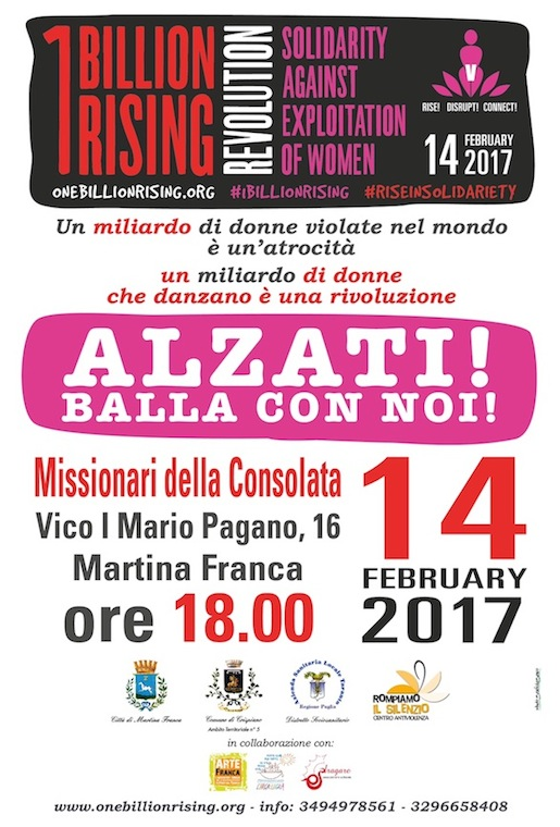One Billion Rising Revolution 2017